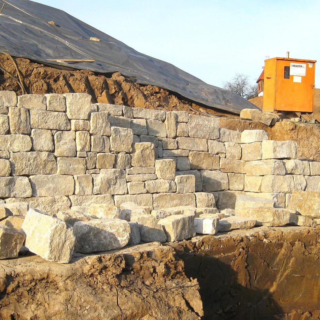 Hang Befestigung Krauter Bau